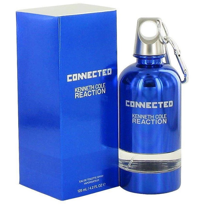 Kenneth Cole Connected Reaction Cologne by Kenneth Cole 4.2oz Eau De Toilette Spray for men